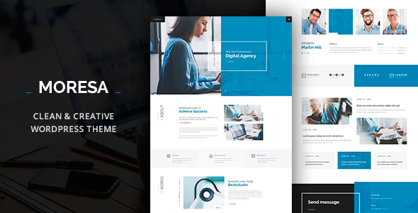 Moresa- Business WordPress Theme